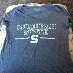 Michigan State Under Armour V-Neck